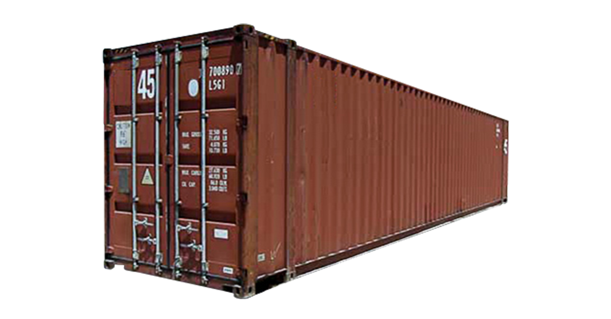 45' High Cube Container - Cargo Worthy