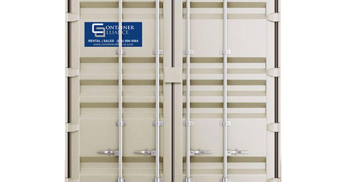 40' Double Door High Cube Container Rental