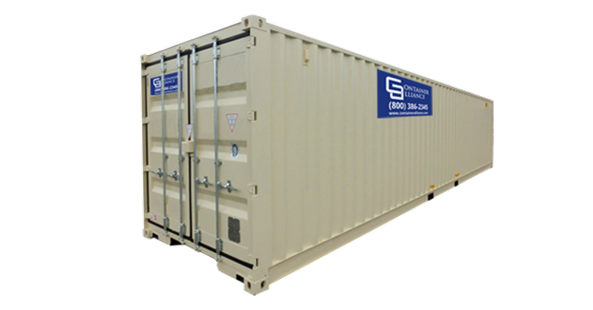 40' Container - Rental