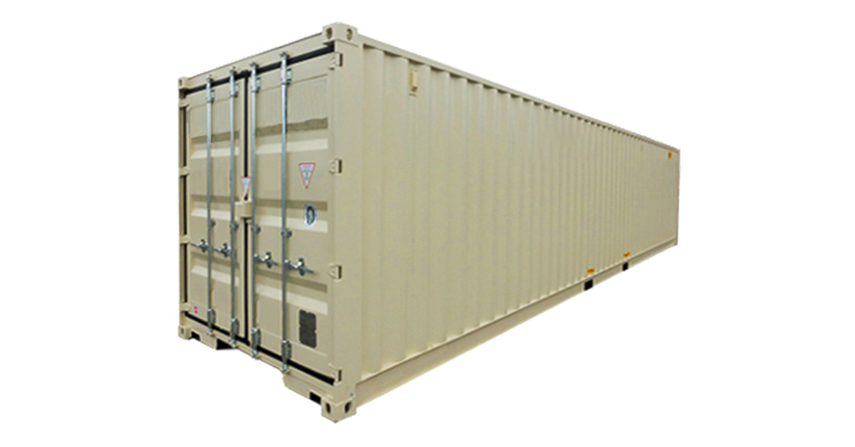 40' Standard Container - One Trip