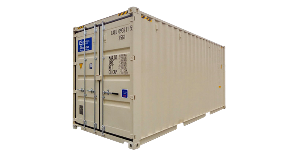 20' High Cube Container - One Trip
