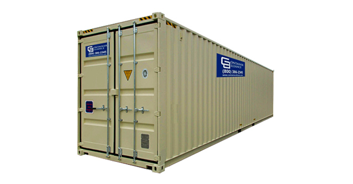 40' High Cube Container - Rental