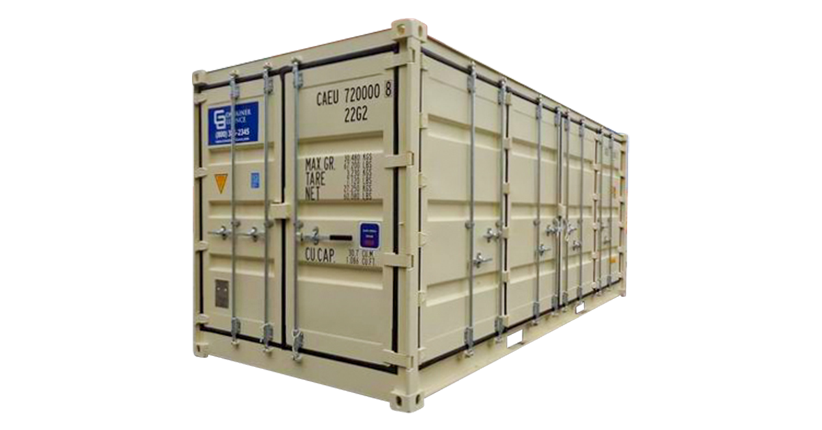 20' Standard Open Side Container - One Trip